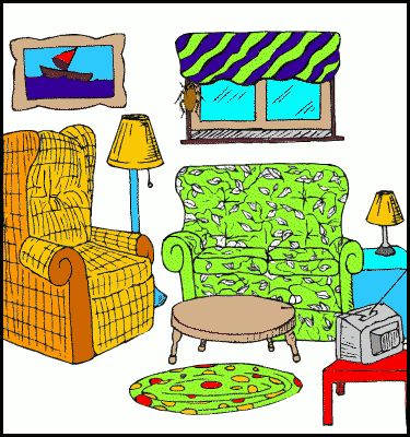 Living Room clipart living thing Living in living Clipart (49+)