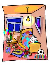 Living Room clipart messy Messy room Messy cartoon &