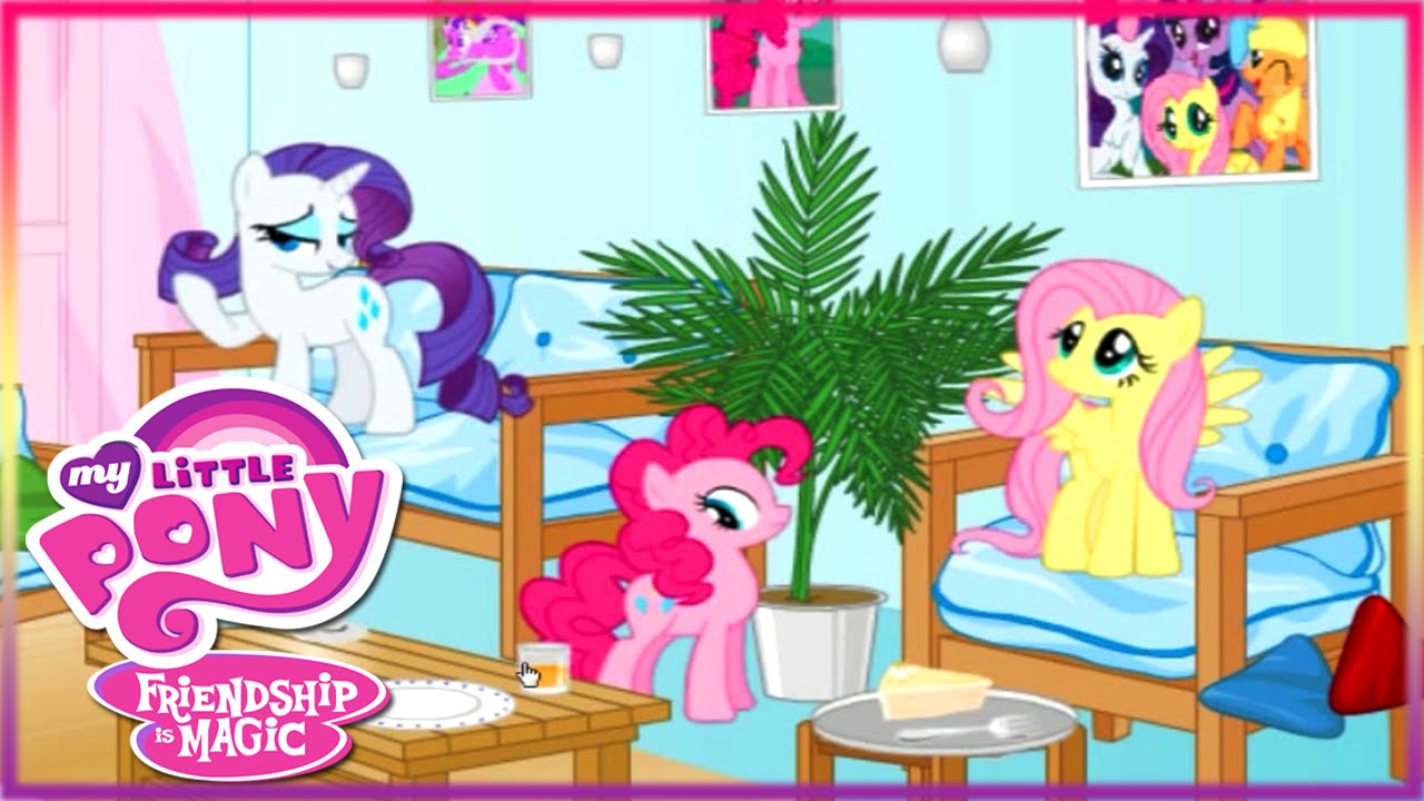Living Room clipart illustration For Children Game Room Pony