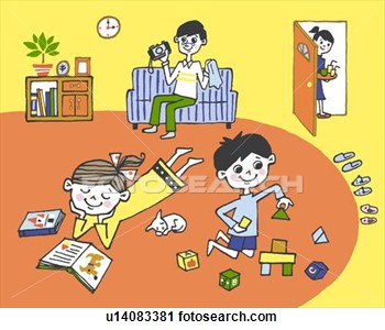 Living Room clipart my house With I to the My