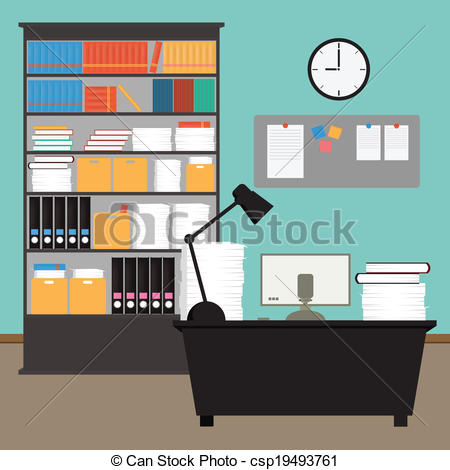 Room clipart office room #3