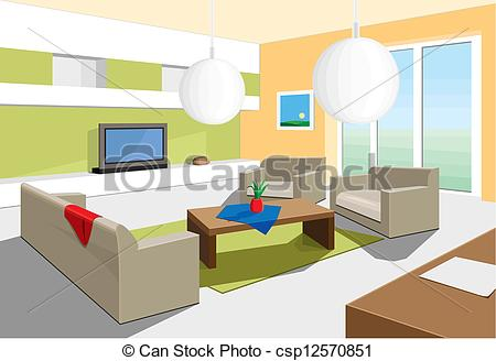 Living Room clipart sitting room Sitting sitting for room Clipart