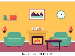 Living Room clipart standard living Modern room Living house interior