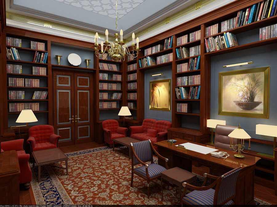 Living Room clipart study room Home Inspiring – Study Design