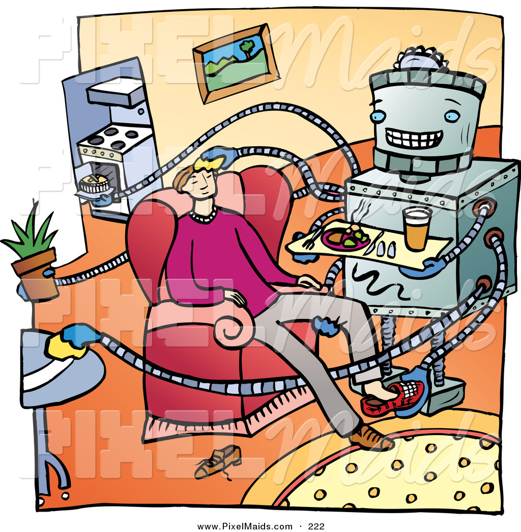 Living Room clipart their  Metal Cooking Clipart of