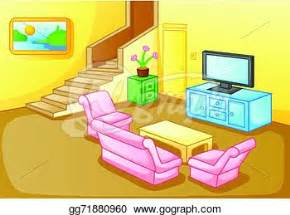 Living Room clipart their Living Empty and Room Empty