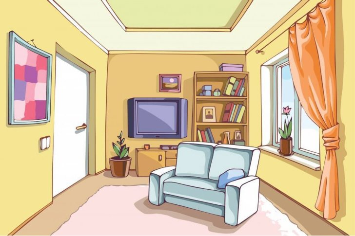 Living Room clipart their #2: Living Living Room Room