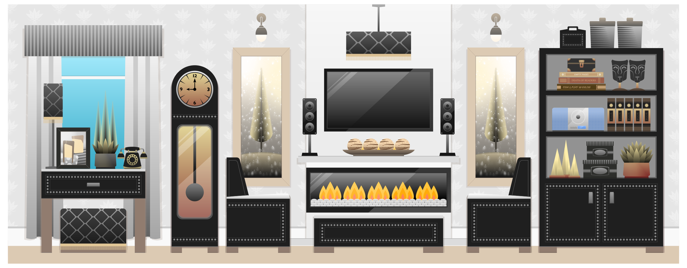 Living Room clipart their Living Living Clipart Room Room