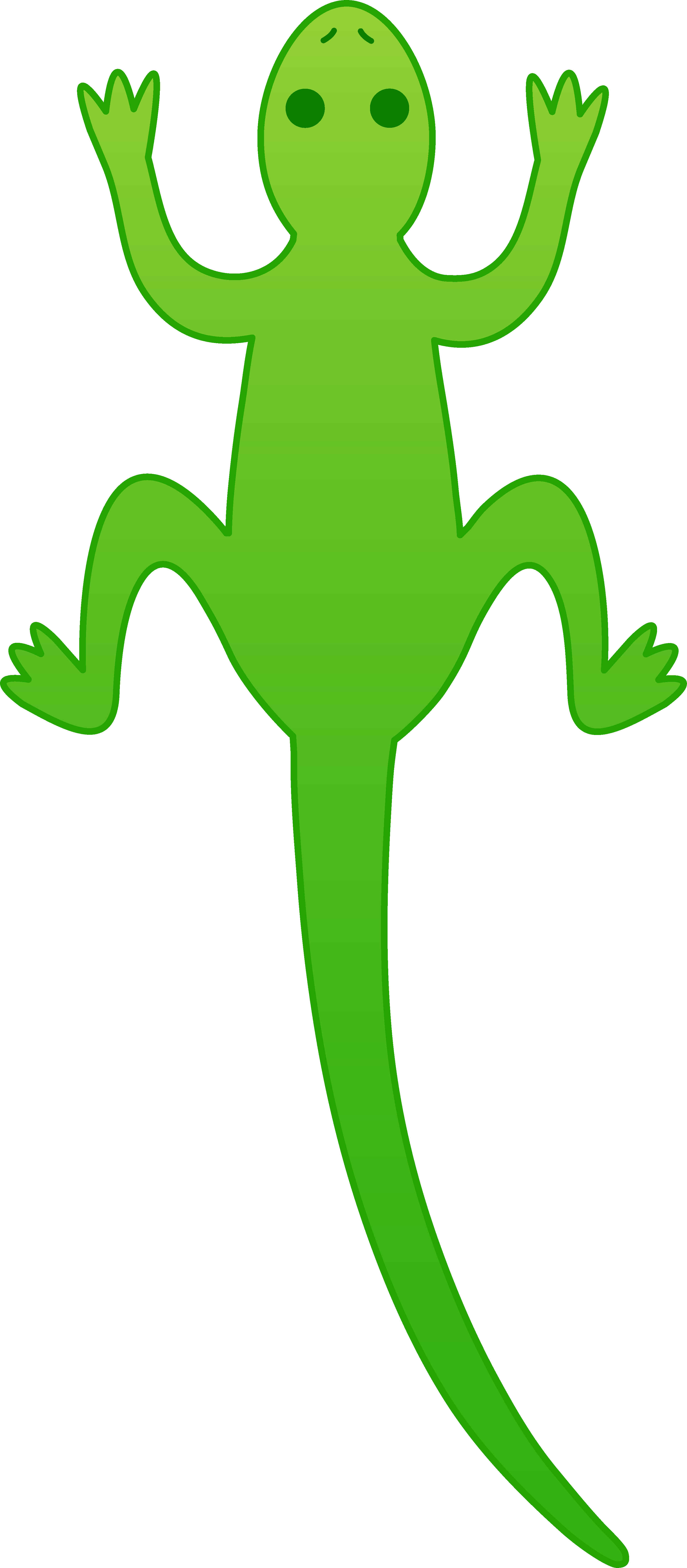 Drawn reptile yellow spotted Clipart lizard%20clipart Cute Lizard Free