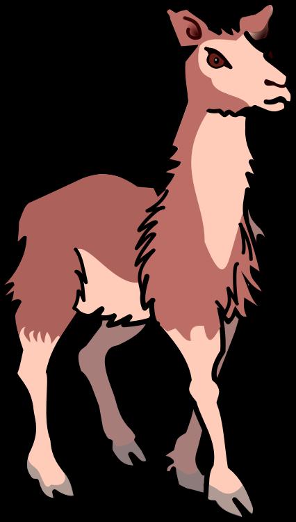 Llama clipart & Llama Public Clip Use