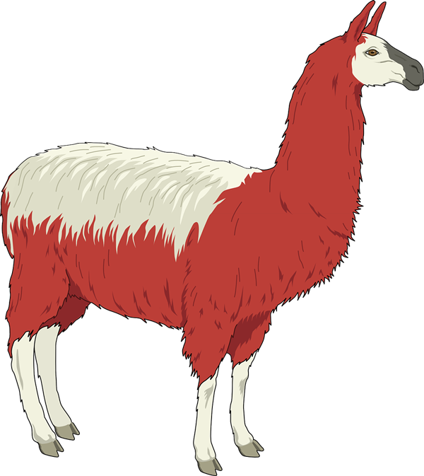 Alpaca clipart fur Clip to Public Llama Use