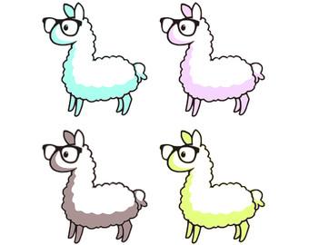 Llama clipart Llama Clip Image Llama Etsy