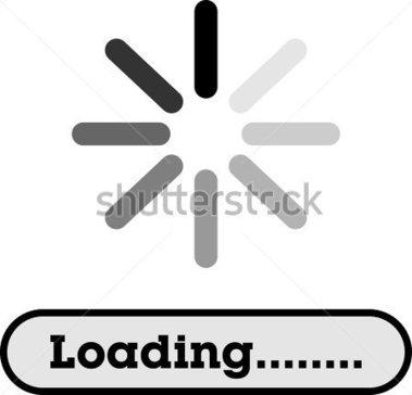 Loading clipart Please Loading Wait Clipart Loading