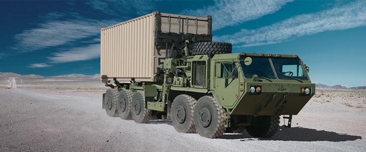 Loading clipart loaded truck PLS Defense PLS PLS Oshkosh