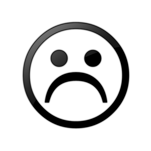 Smileys clipart frown Sad%20face%20clipart%20black%20and%20white Clipart And Clipart Panda