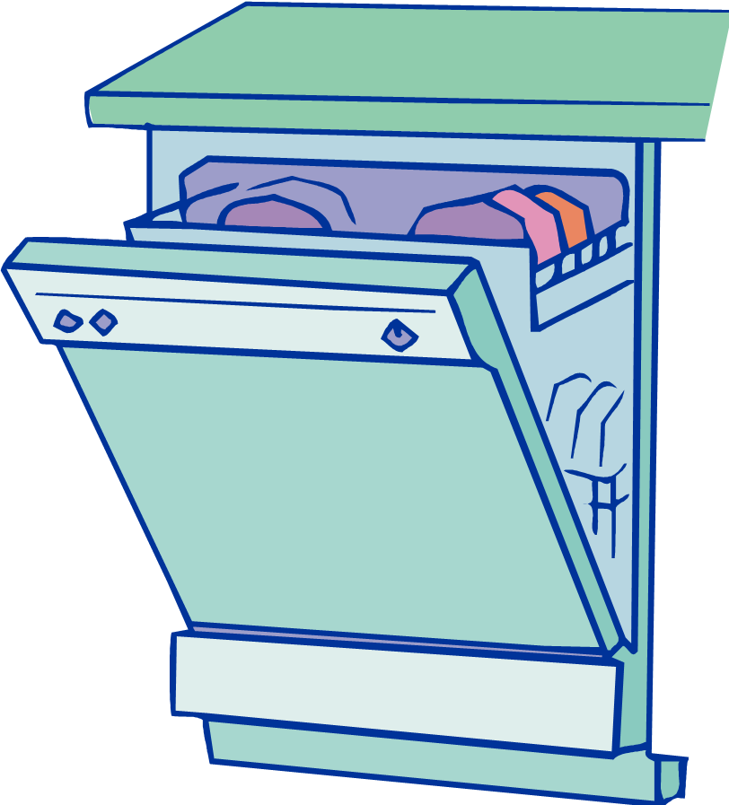 Loading clipart empty dishwasher Dishwasher Art Clip on Clipart