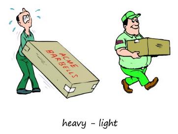Loading clipart heavy light _heavy_&_light_(onlinefreespanish com_minibook_11) OPPOSITES opposites_ jeanporter