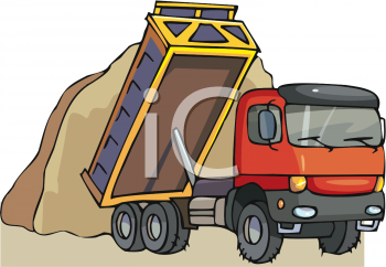Loading clipart loaded truck Cliparts Clip Load Art Dirt