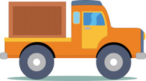 Loading clipart loaded truck Clipart Truck Truck Loading Graphics