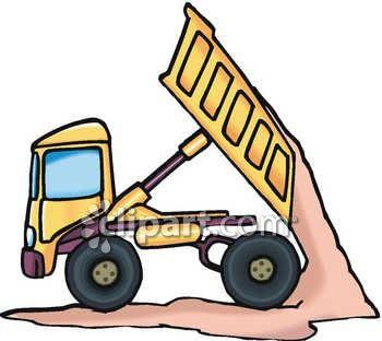 Cartoon clipart dump truck Truck Dump Download Loaded Truck