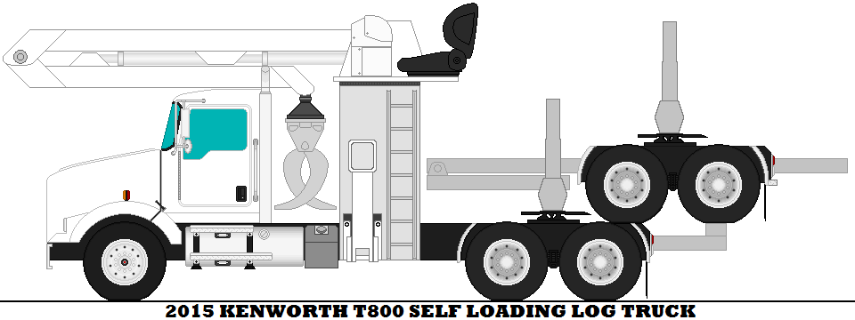 Loading clipart log truck Loading Kenworth by 2015 Truck