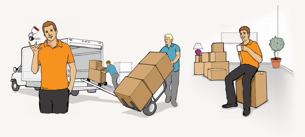 Loading clipart moving day Book Cheap and Load to
