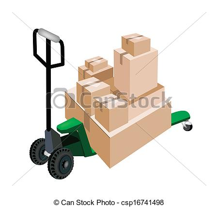 Truck clipart loading truck A of A of Shipping