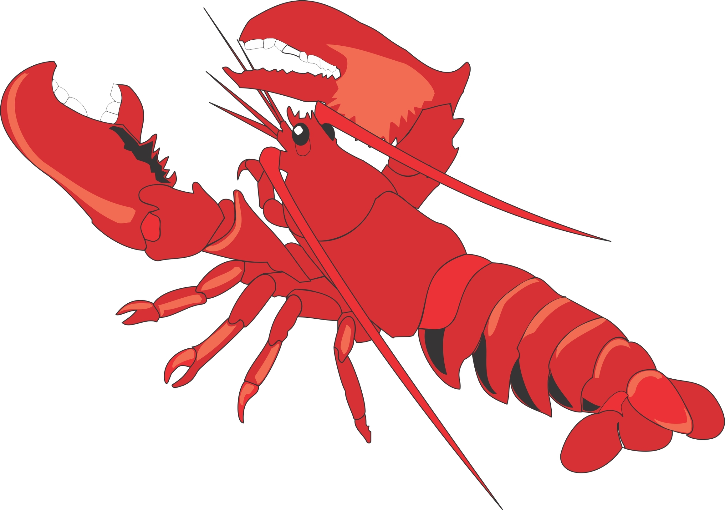 Lobster clipart Lobster resource use Lobster clipart