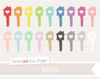 Lock clipart cute Skeleton key Clipart Padlock Door