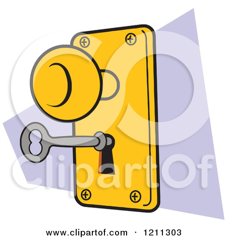 Lock clipart door lock  Latch Clipart Door