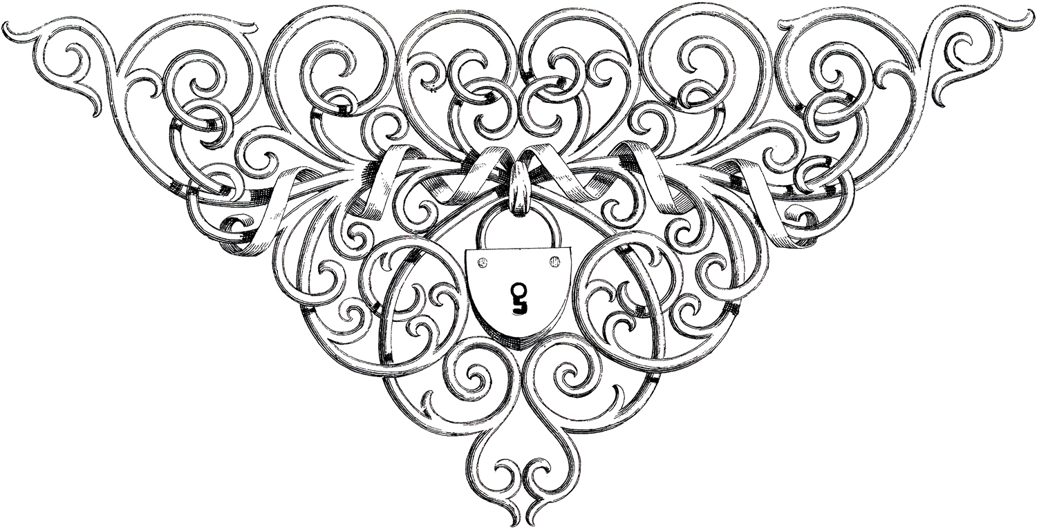 Lock clipart fancy Amazing Images Lock Ornate The