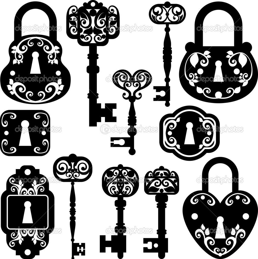 Lock clipart fancy Google Facebook art free Google