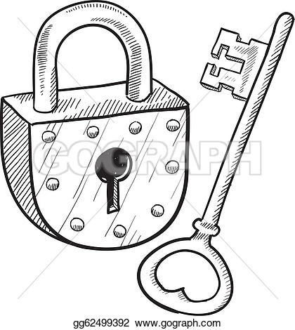 Lock clipart fancy Old About on art Schematic