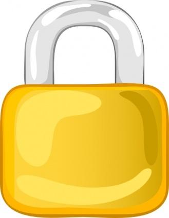 Lock clipart gold Clipart Cliparts Zone Lock Gold