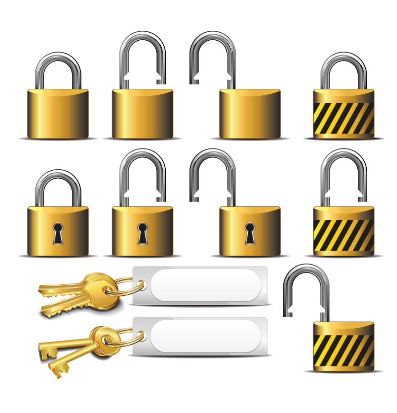 Lock clipart gold And Free Images Clip Download