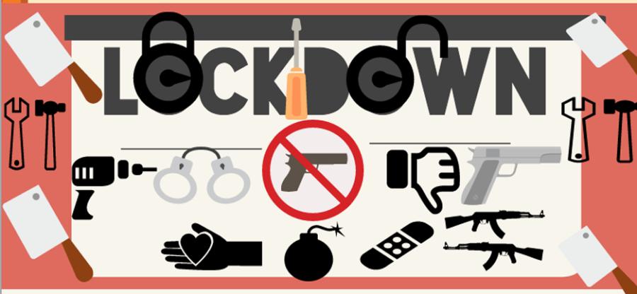 Lock clipart lockdown drill Lockdown The Page Royal advance