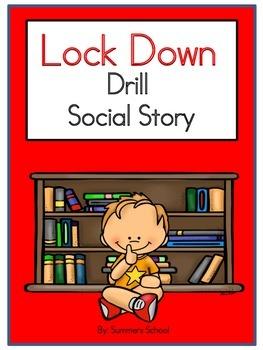 Lock clipart lockdown drill School Drill School Story Social