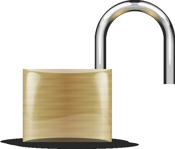 Lock clipart unlocked Unlocked Lock Clip Lock Free