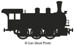 Steam clipart steam locomotive Steam illustration Illustrations 8 steam