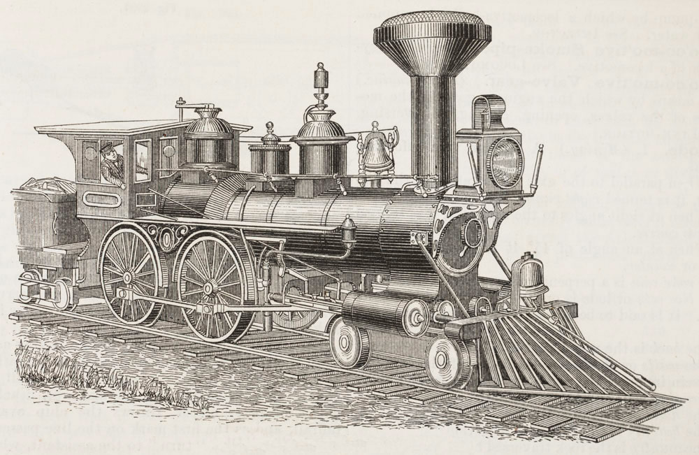 Locomotive clipart 19th century Century Transcontinental of Century of