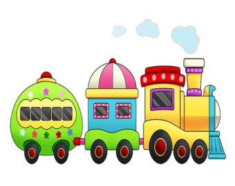 Locomotive clipart baby train Cutout Train Wall Train Art