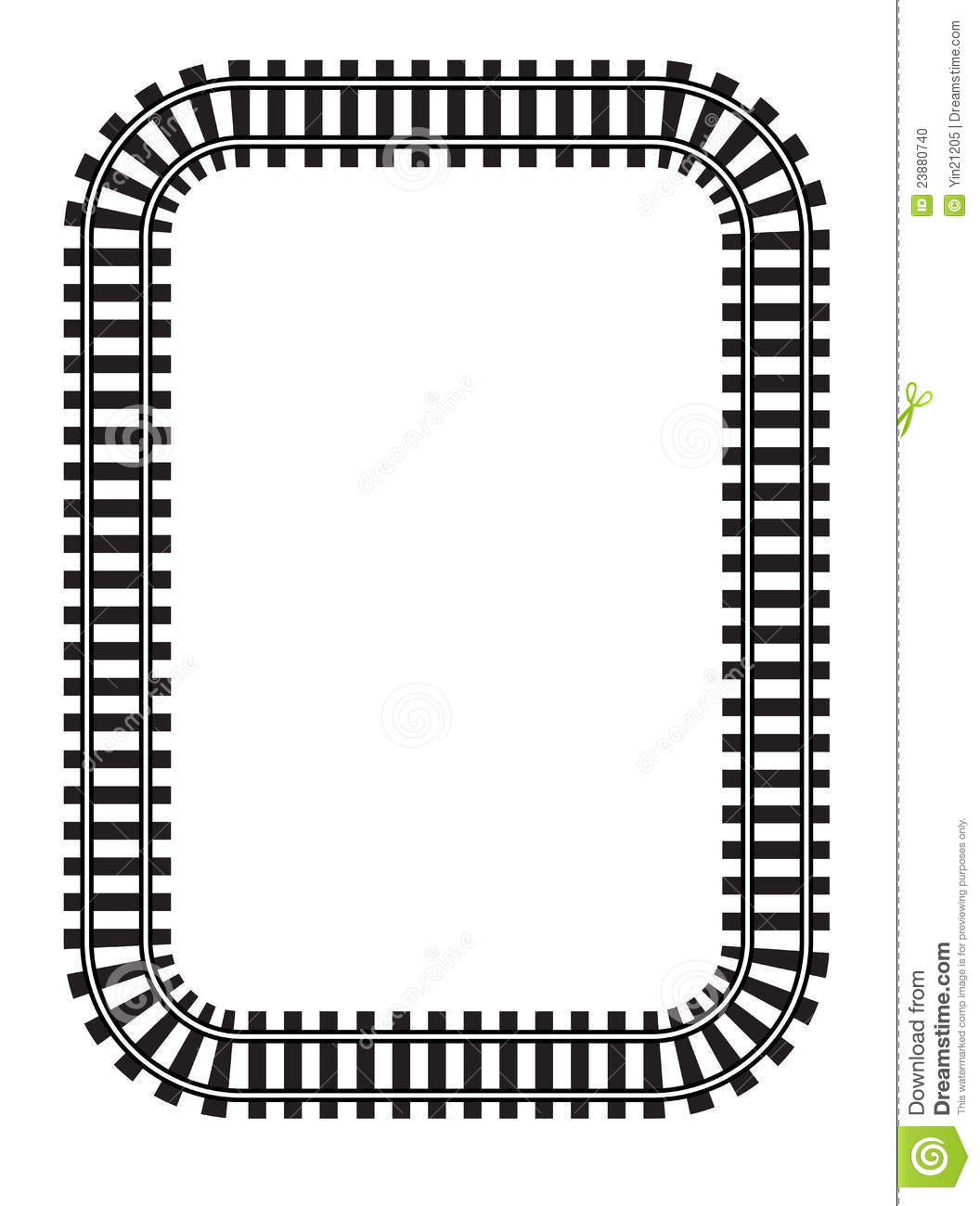Train clipart curved #8
