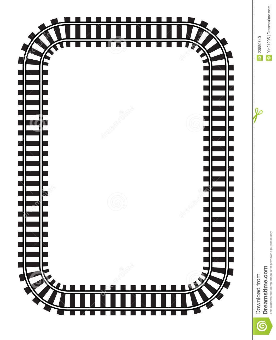 Locomotive clipart border Clipart jpeg 1056 Tracks Gallery