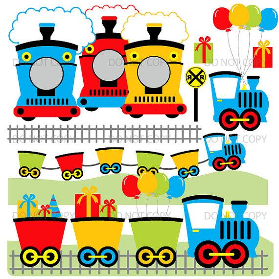 Locomotive clipart choo choo train Train ArtAmoris choo choo art