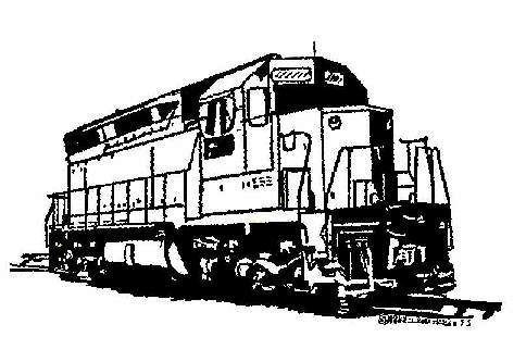 Locomotive clipart diesel train Railroad Train Sierra Railroad Sierra
