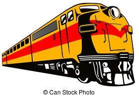 Locomotive clipart diesel train Of csp1463844 Train Retro train