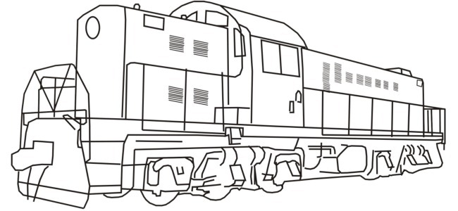 Locomotive clipart diesel train Pictures Diesel Pictures Of coloring