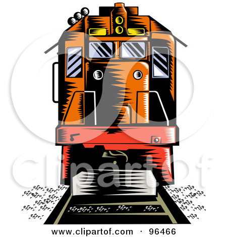 Locomotive clipart diesel train Free Front Train Clipart Clipart