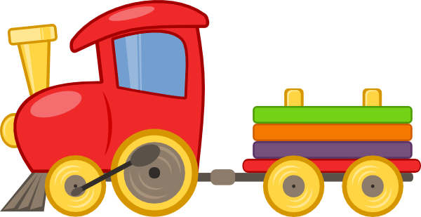 Railways clipart choo choo train #11