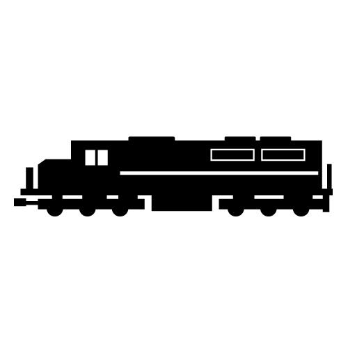 Locomotive clipart freight train SpeedandSloshing